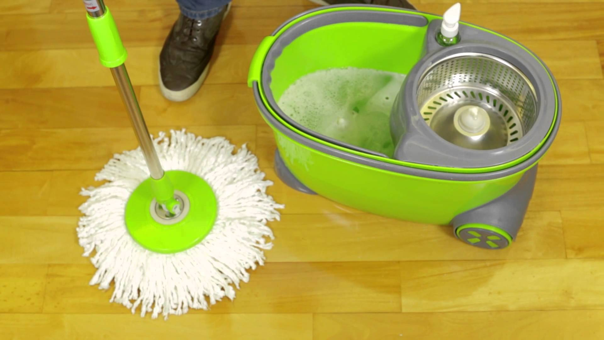 How To Remove Spin Mop Head Moppull