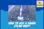 How to use a Shark Steam Mop?